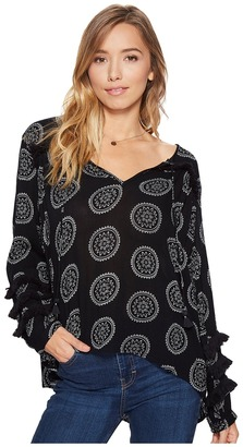 Amuse Society - Mira Woven Top Women's Clothing $64 thestylecure.com
