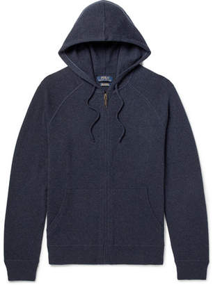 Polo Ralph Lauren Mélange Cashmere Zip-Up Hoodie
