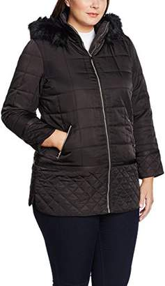 Evans Women's Square Quilted Coat