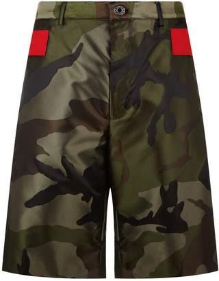 Givenchy Camo Print Bermuda Shorts
