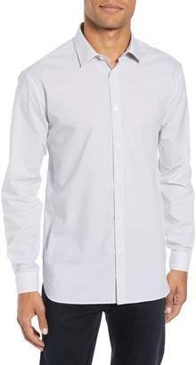 John Varvatos Slim Fit Print Dress Shirt