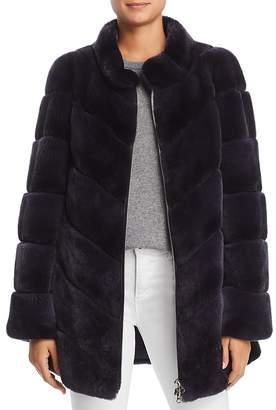Maximilian Furs Rabbit Fur Coat- 100% Exclusive