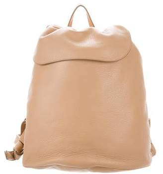 The Row Leather Drawstring Knapsack w/ Tags