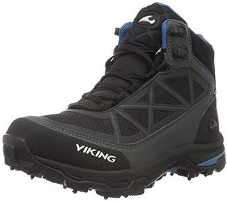 Viking Unisex Adults' Ascent II Spikes Low Trekking and Walking Shoes Black Size: 6