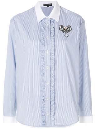 Markus Lupfer ruffle trim shirt