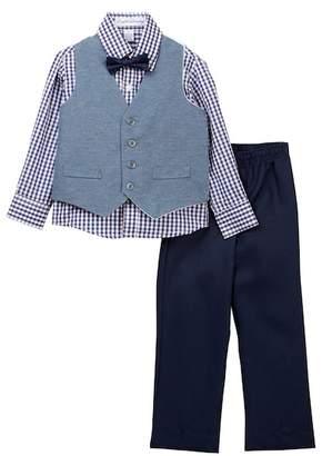English Laundry 4-Piece Vest Set (Toddler & Little Boys)