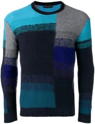 Roberto Collina colour block knit sweater