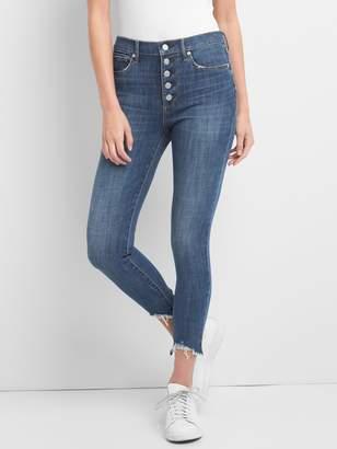 Gap Super High Rise True Skinny Ankle Jeans in 360 Stretch