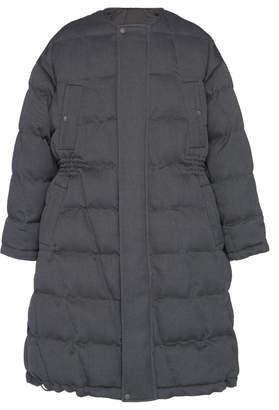 Ermenegildo Zegna Couture XXX Quilted Overcoat
