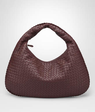 Bottega Veneta DARK BAROLO INTRECCIATO NAPPA LARGE VENETA BAG