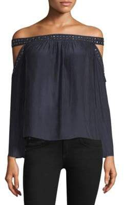 Ramy Brook Kendra Off-The-Shoulder Blouse