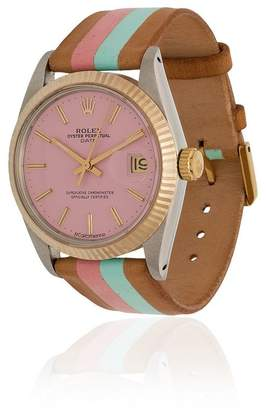 Rolex La Californienne multicoloured flamingo palm 34mm watch