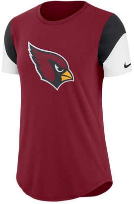 Nike Women's Arizona Cardinals Tri-Fan T-Shirt