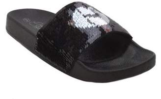 BLUE SUEDE SHOES Blue Women's Fashion Slip On Sandals