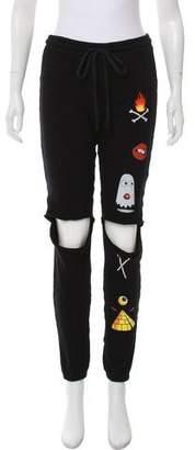 Lauren Moshi Mid-Rise Sweatpants