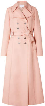 Giambattista Valli Woven Trench Coat - Pastel pink