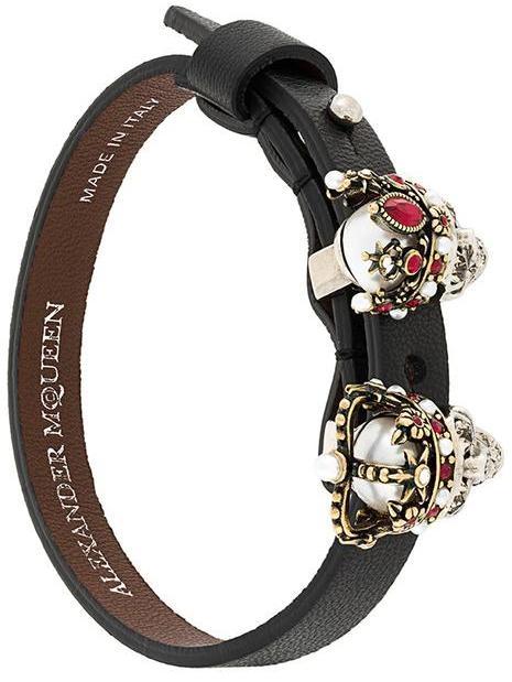 Alexander McQueenAlexander McQueen Queen and King bracelet