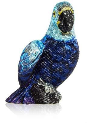 Judith Leiber Couture Macau Parrot Minaudiere