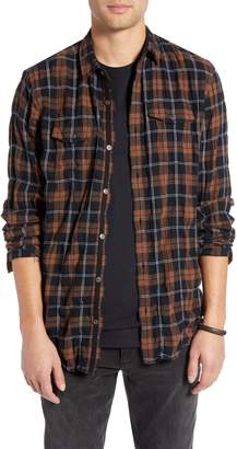 Treasure & Bond Regular Fit Plaid Sport Shirt