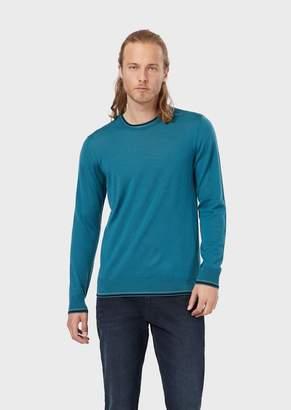 Emporio Armani Pure Virgin Wool Sweater