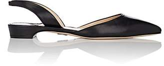 cb086419944 Paul Andrew Women s Rhea Patent Leather Slingback Flats - Black