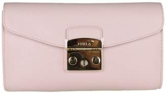 Furla Pochette Metropolis S In Skin Color Powder