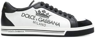 Dolce & Gabbana print logo sneakers