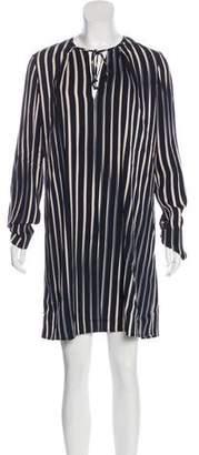 Diane von Furstenberg Striped Shift Dress w/ Tags