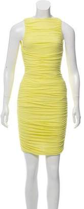 Alice + Olivia Ruched Sheath Dress