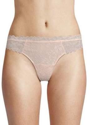 Eberjey Scalloped Lace Thong