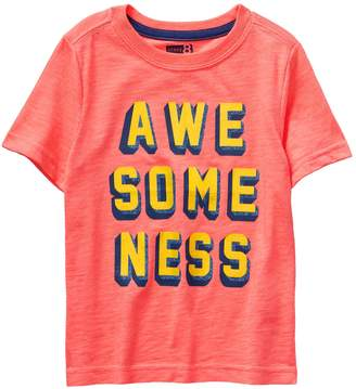 Crazy 8 Crazy8 Toddler Awesomeness Tee