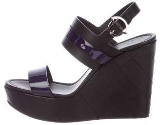 Moncler Guyana Wedge Sandals