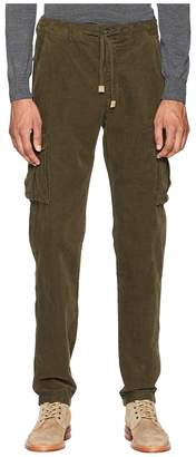 Eleventy Cord Cargo Jogger Pants Men's Casual Pants