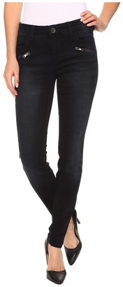 KUT from the Kloth Moto Skinny Jeans in Preperation w/ Euro Base Wash $98 thestylecure.com