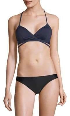 MICHAEL Michael Kors Wrap Bikini Top