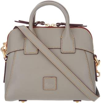 Dooney & Bourke Florentine Leather Crossbody Satchel-Cameron