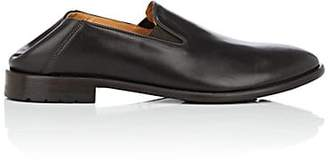 Barneys New York MEN'S LEATHER VENETIAN LOAFERS - BROWN SIZE 11 M