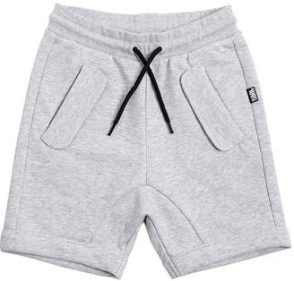 Karl Lagerfeld Cotton Blend Sweat Shorts