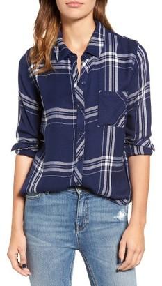 Women's Rails Hunter Plaid Shirt $148 thestylecure.com
