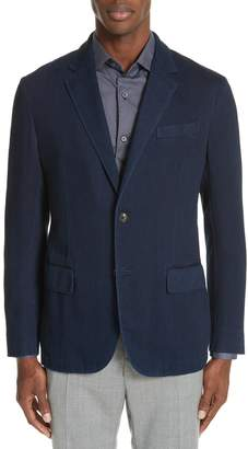 Ermenegildo Zegna Classic Fit Denim Sport Coat