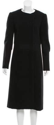 Tibi Long Wool Jacket