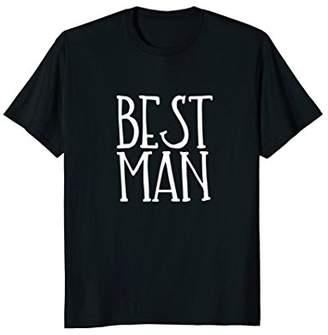 Best Man Shirt Wedding Party Bride Groom Bro Bachelor