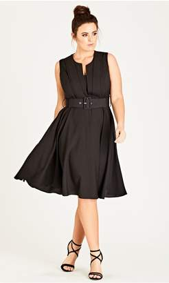 City Chic Citychic Pool Vintage Veronica Dress