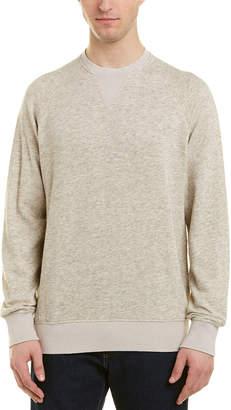 President's Crewneck Wool-Blend Sweater