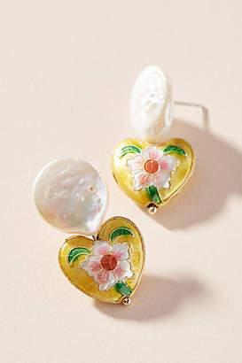 771be5dca1dae5 Anthropologie Treasured Heart Drop Earrings