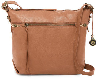 The Sak Sierra Leather Crossbody Bag $179 thestylecure.com