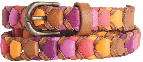 Hazel Colorful Braided Belt