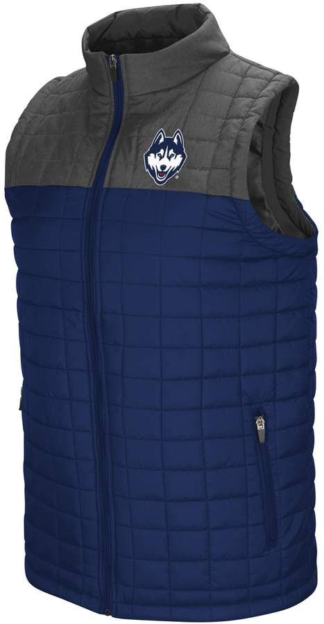 Men's UConn Huskies Amplitude Puffer Vest