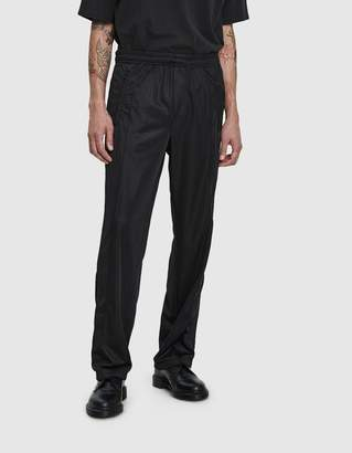 Our Legacy Side Stripe Track Pant in Vct Black