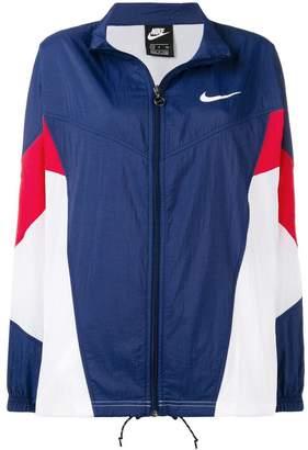 Nike sports track style jacket